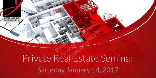 Investment Seminar – 1-14-17